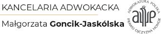 Adwokat Małgorzata Goncik-Jaskólska - Kancelaria Wrocław